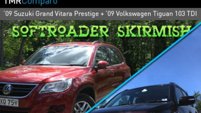 2009 Suzuki Grand Vitara Prestige And 2009 Volkswagen Tiguan 103 TDI Road Test Review