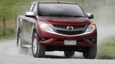 2012 Mazda BT-50: Comfort And Cargo Details