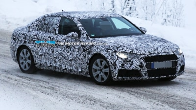 2016 Audi A4 Spied Testing