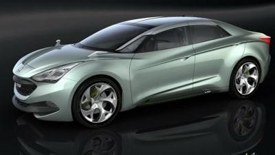 Hyundai i-flow Concept Revealed Ahead Of Geneva Debut