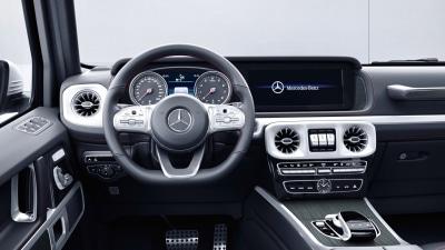 Sit-in: 2018 Mercedes-Benz G-Class interior