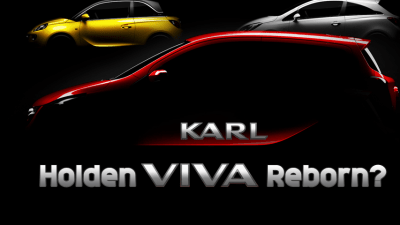 Holden Viva To Return? Opel Teases New Karl Light Hatch