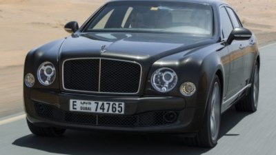 Bentley Mulsanne Speed first drive review