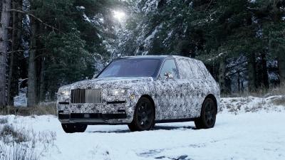 Rolls-Royce confirms Cullinan name