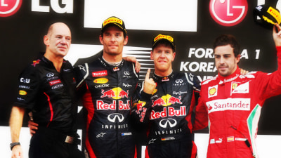 F1: Lauda Tipping Vettel Over Alonso, Webber Warns Of Weather