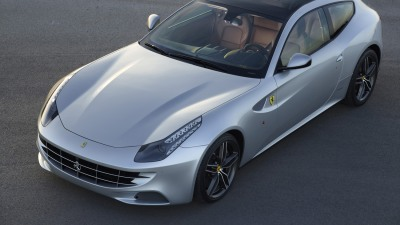 Ferrari FF Gets Glass Roof For 2013