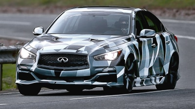Infiniti Q50 Eau Rouge To Run Up The Hill At Goodwood