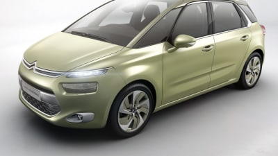 Citroen Technospace Concept Previews New C4 Picasso Minivan