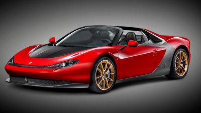 Ferrari Sergio Revealed In Production Form
