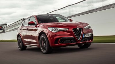 Alfa Romeo Stelvio Quadrifoglio sets three UK lap records
