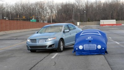 Ford Taking Crash Testing To New Dimensions With Car-Sized Balloons