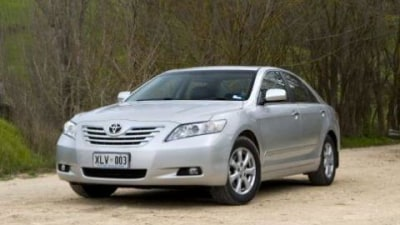 Toyota Aurion and Camry sales up 75 percent