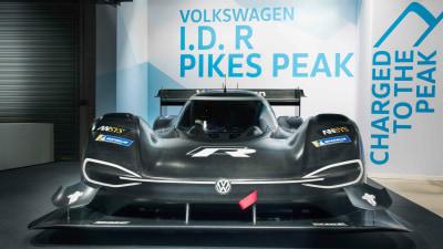 Volkswagen I.D. R Pikes Peak revealed