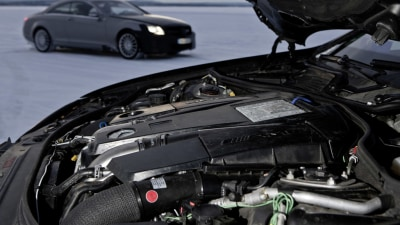 Mercedes-Benz New 5.5 Litre Twin-Turbo V8 Engine Revealed