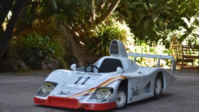 Live your junior Le Mans dream with a half-scale Porsche 936 racer