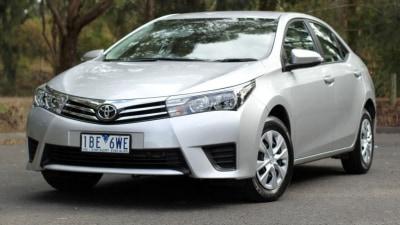 2014 Toyota Corolla Sedan Review: Ascent
