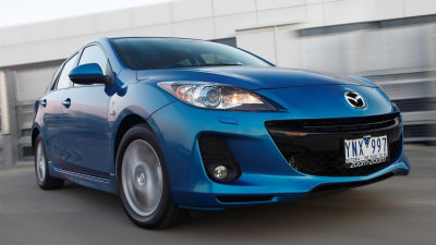 2012 Mazda3 On Sale In Australia, Mazda30 SP20 SkyActiv Lands
