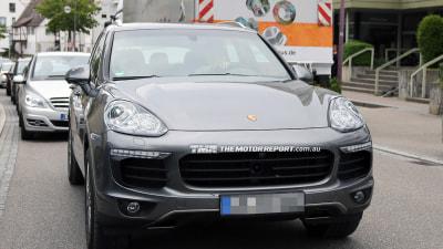 2015 Porsche Cayenne Facelift Spied