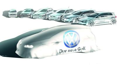 2013 Volkswagen Golf Teased Ahead Of September Debut