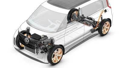 Volkswagen To Unveil Golf-Size All Electric Car In Paris