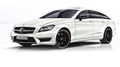 Mercedes-Benz CLS 63 AMG Shooting Brake Surfaces Online