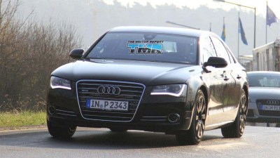 2011 Audi S8 Spied Testing At The Nurburgring
