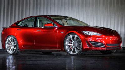 Saleen Tuned Model S Unveiled, Tesla Ups Warranty To Eight Years