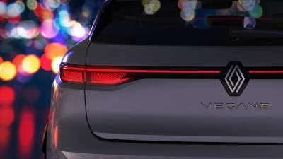 2022 Renault Megane E-Tech Electric small SUV teased