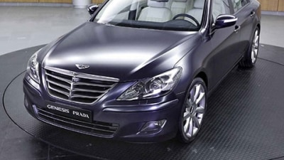 Hyundai Genesis Prada Previewed Ahead Of 2009 Seoul Motor Show
