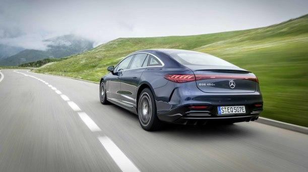 2022 Mercedes-Benz EQS 450 Blue 10