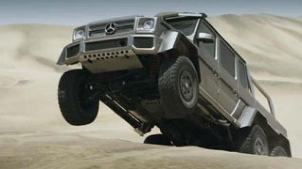 Mercedes-Benz's new desert stormer