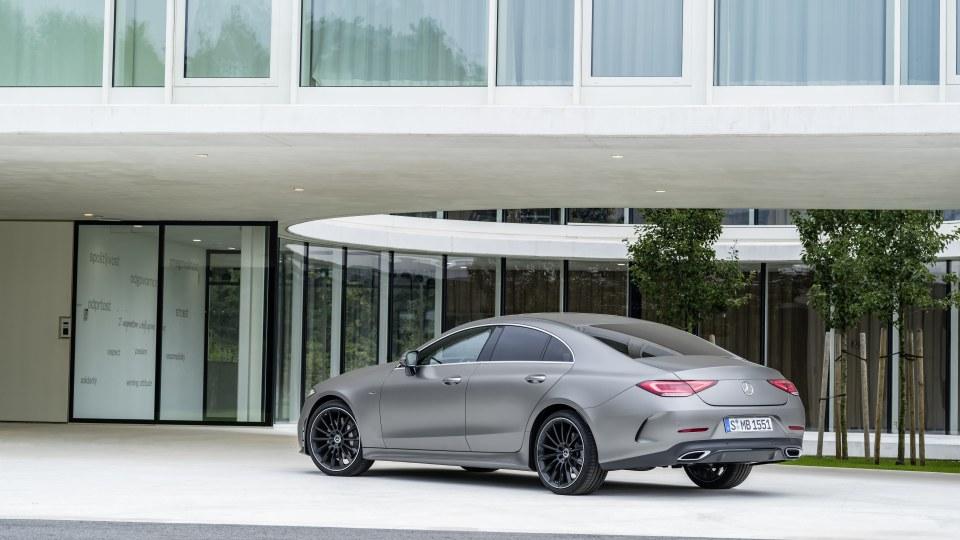 New Mercedes-Benz CLS.