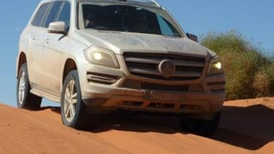 Mercedes-Benz GL350 Bluetec: Outback road test