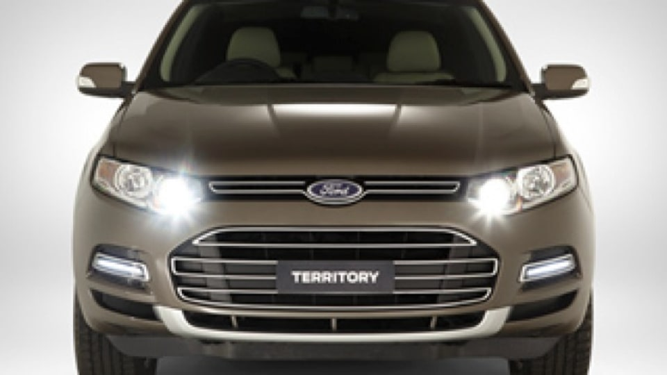 Revealed: New Ford Territory