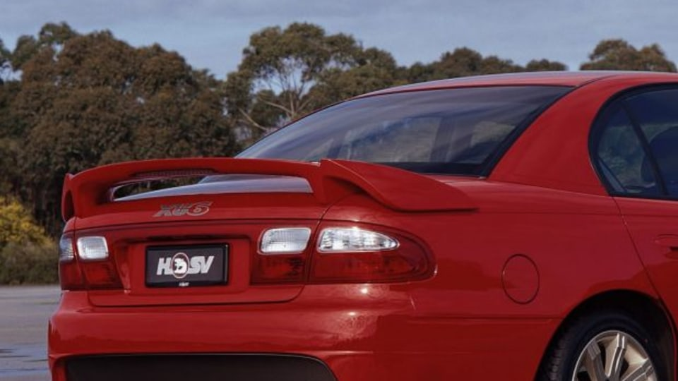 Picture supplied for publicity purposes. Picture shows Holden Commodore's VX HSV XU602