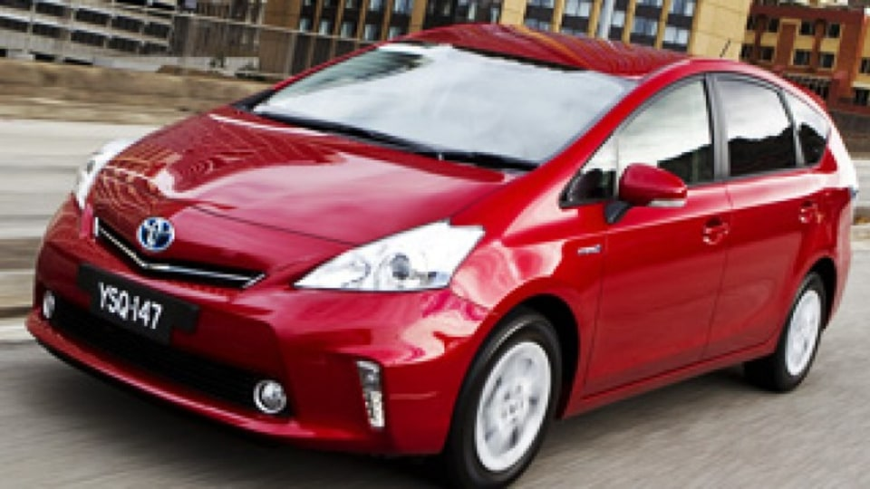 First drive: Toyota Prius V