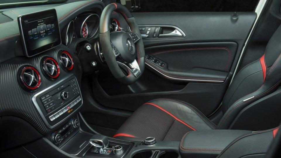2016 Mercedes-AMG A45.
