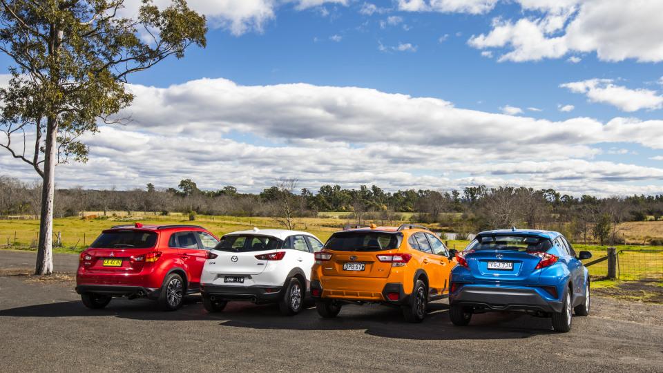 The new Subaru XV takes on the Mitsubishi ASX, Mazda CX-3 and Toyota C-HR.