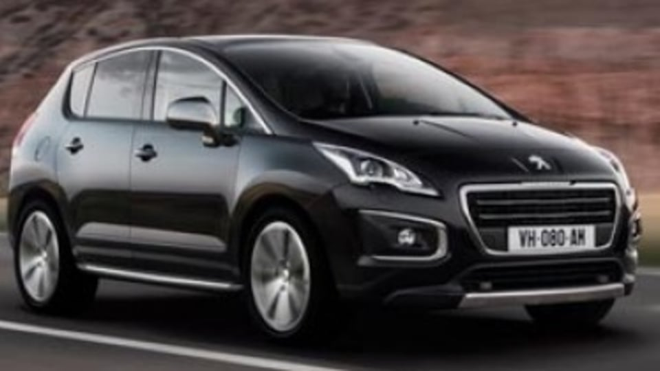Peugeot 3008 facelift uncovered