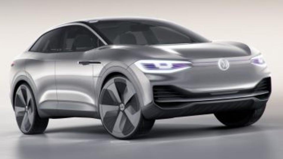 Autodesk VRED Professional 2017 SP1 2017 Volkswagen I.D. Crozz concept. EMBARGO: 8PM 18/4/2017