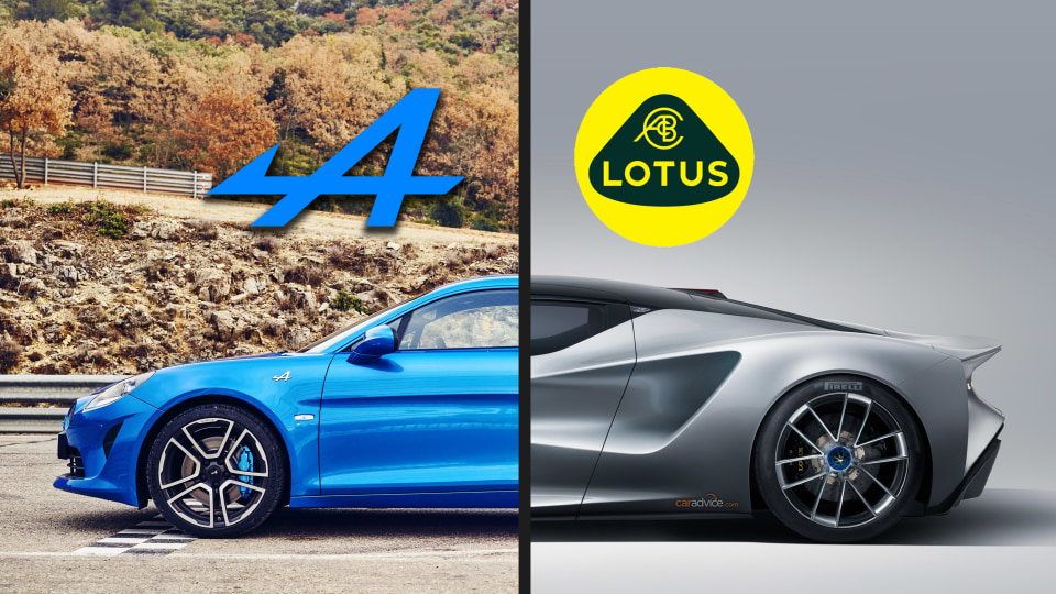 Alpine and Lotus to co-develop all-electric sports car