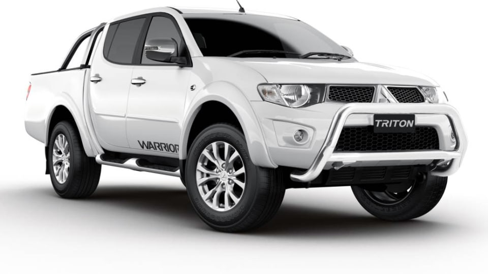 Mitsubishi Triton Warrior Special Returns