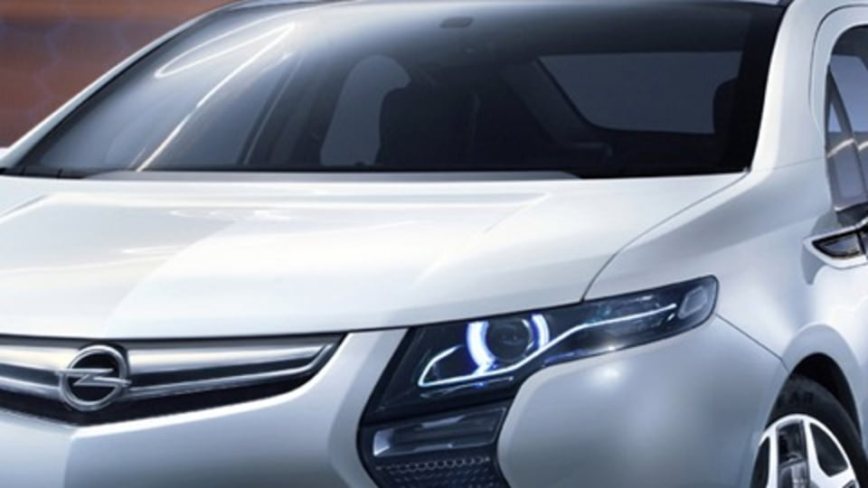 Opel Ampera: First Official Image