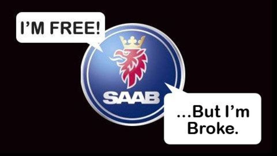 Saab Files For Bankruptcy, Split From GM On The Horizon
