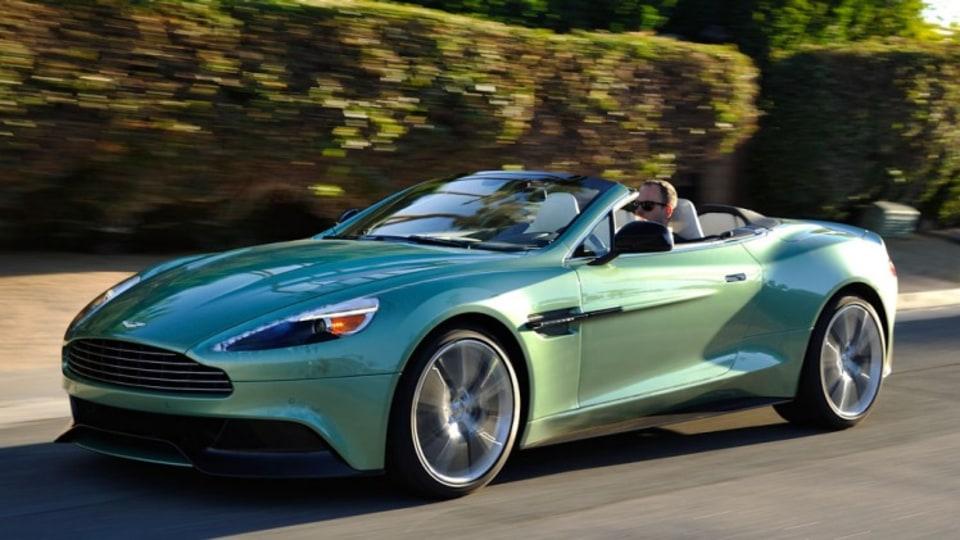 Aston Martin Vanquish Volante.