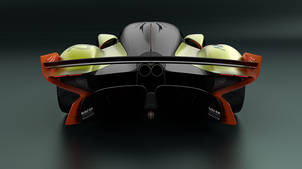Aston Martin: Valkyrie 'Top 10' on the F1 grid