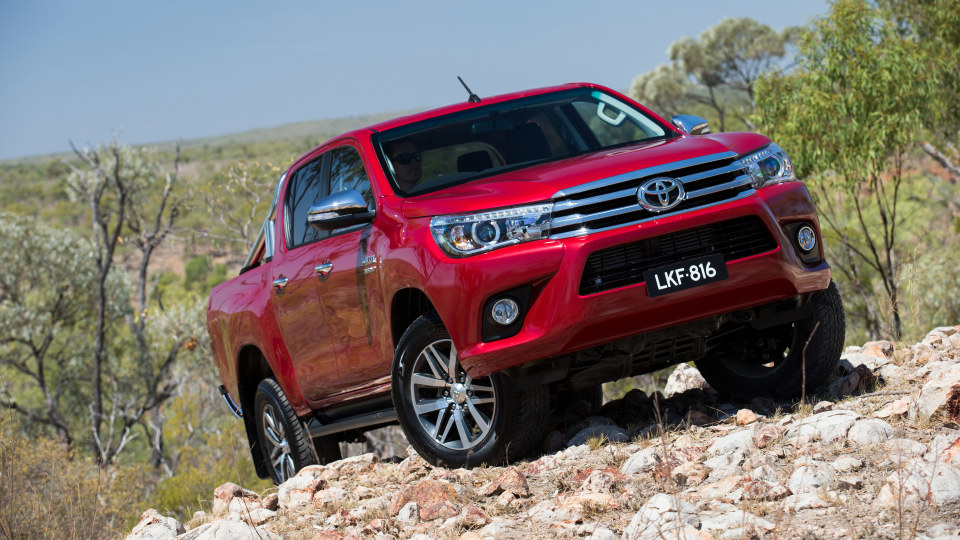 Toyota HiLux is Australia's best selling vehicle.