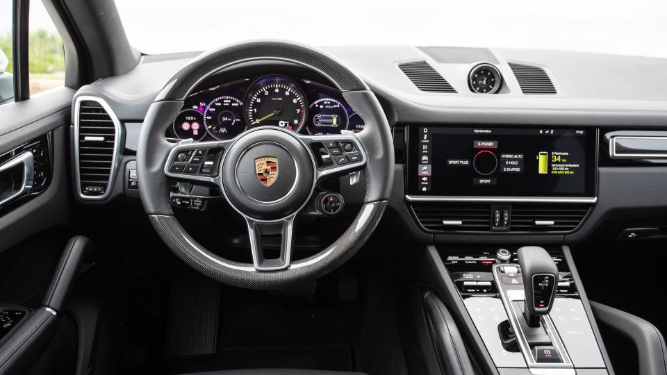 2018 Porsche Cayenne E-Hybrid.