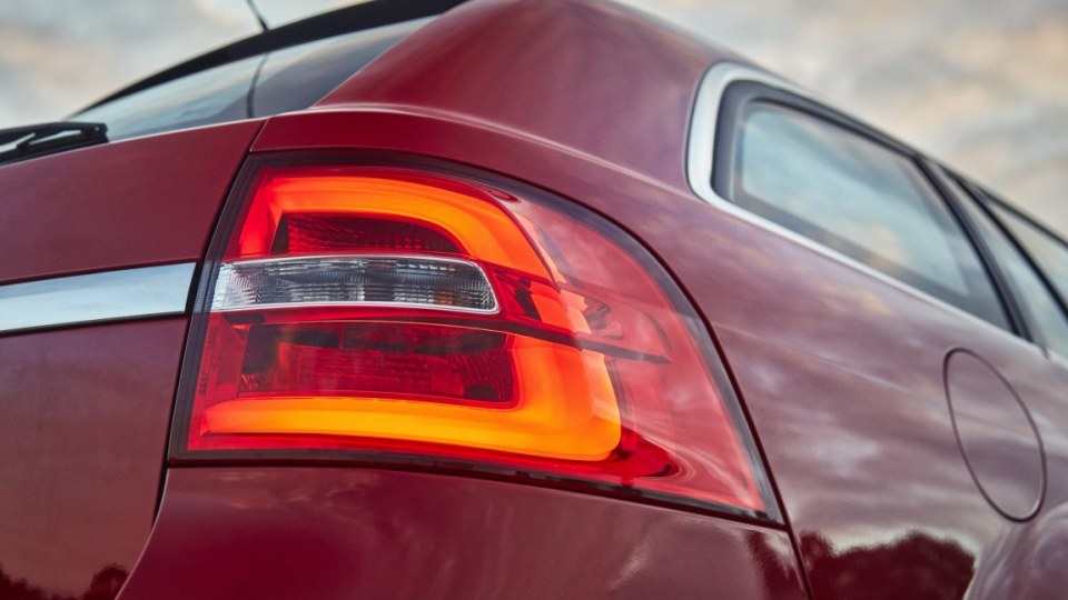 2016 Holden VFII Commodore Sportwagon models get new LED tail lamps
