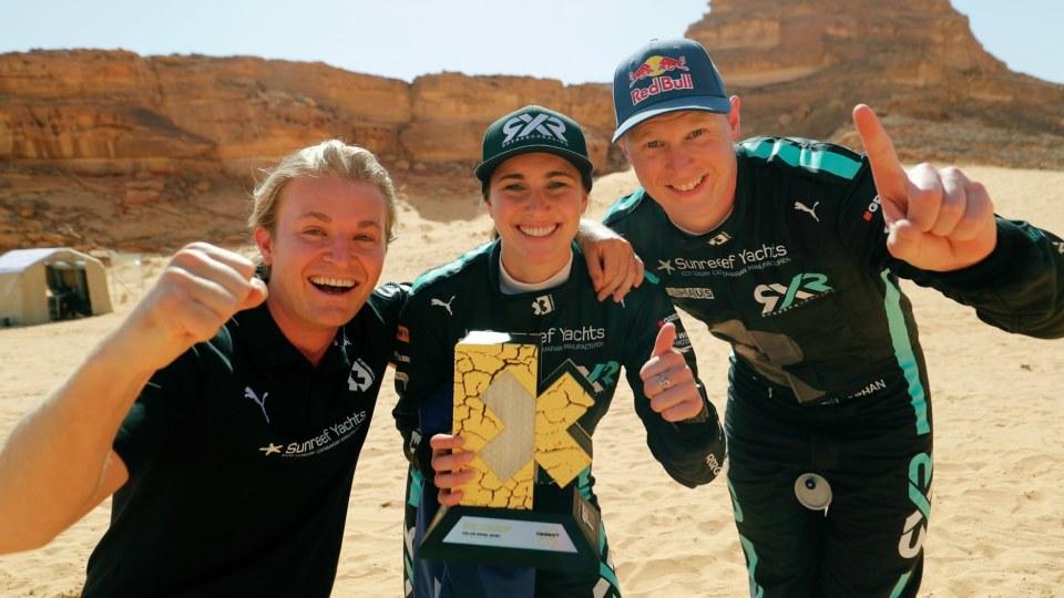 Australian rally champion Molly Taylor wins inaugural Extreme E race